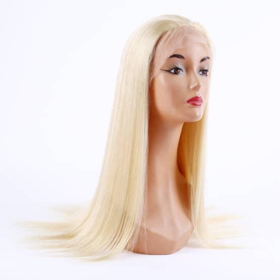 Peluca natural de pelo virgen