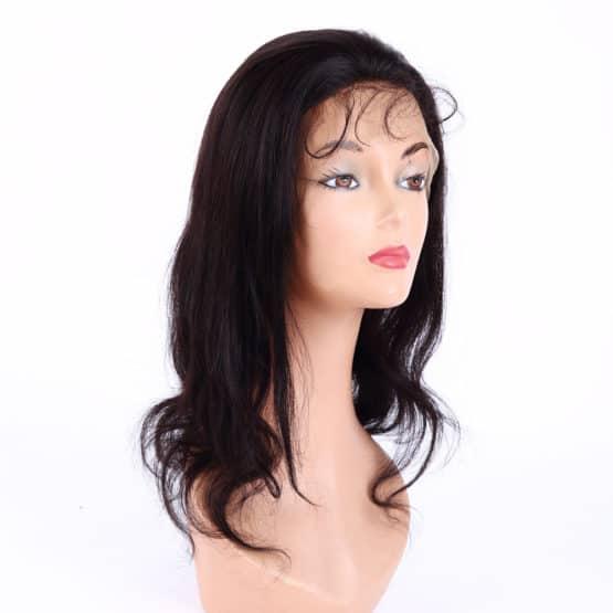 Peluca de pelo virgen natural