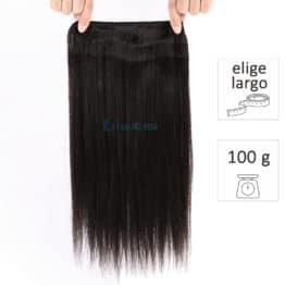 extensiones de cortina de pelo natural virgen
