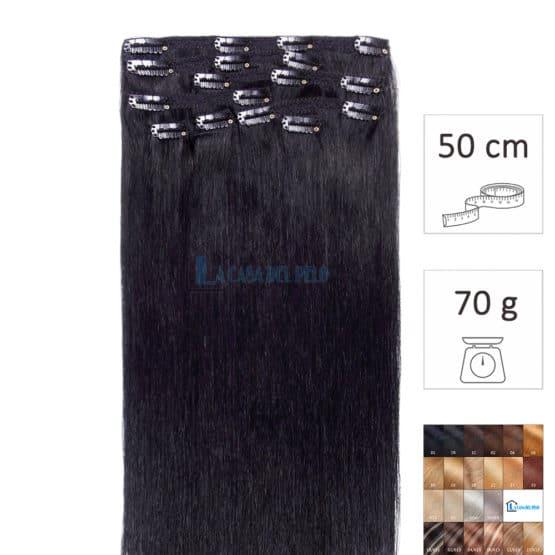 extensiones de pelo natural con clip