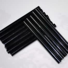 12 Barras de queratina de 110mm x 7,5mm para pistola de queratina de 12w. NEGRA