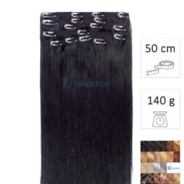 Extensiones de pelo natural con clips